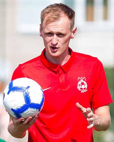 futbolo treneris Eduardas Butiuto