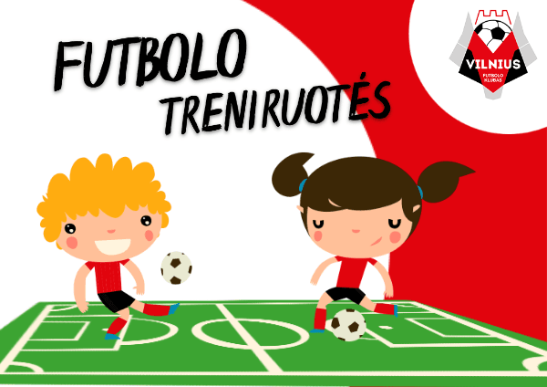 futbolo treniruotes futbolas vaikams