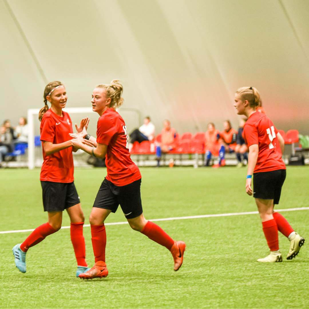 Merginų A lyga merginų futbolas